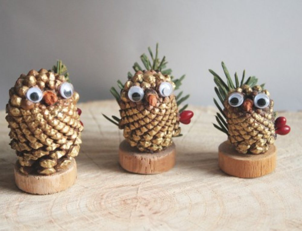 RSPB – Pine Cone Decorating
