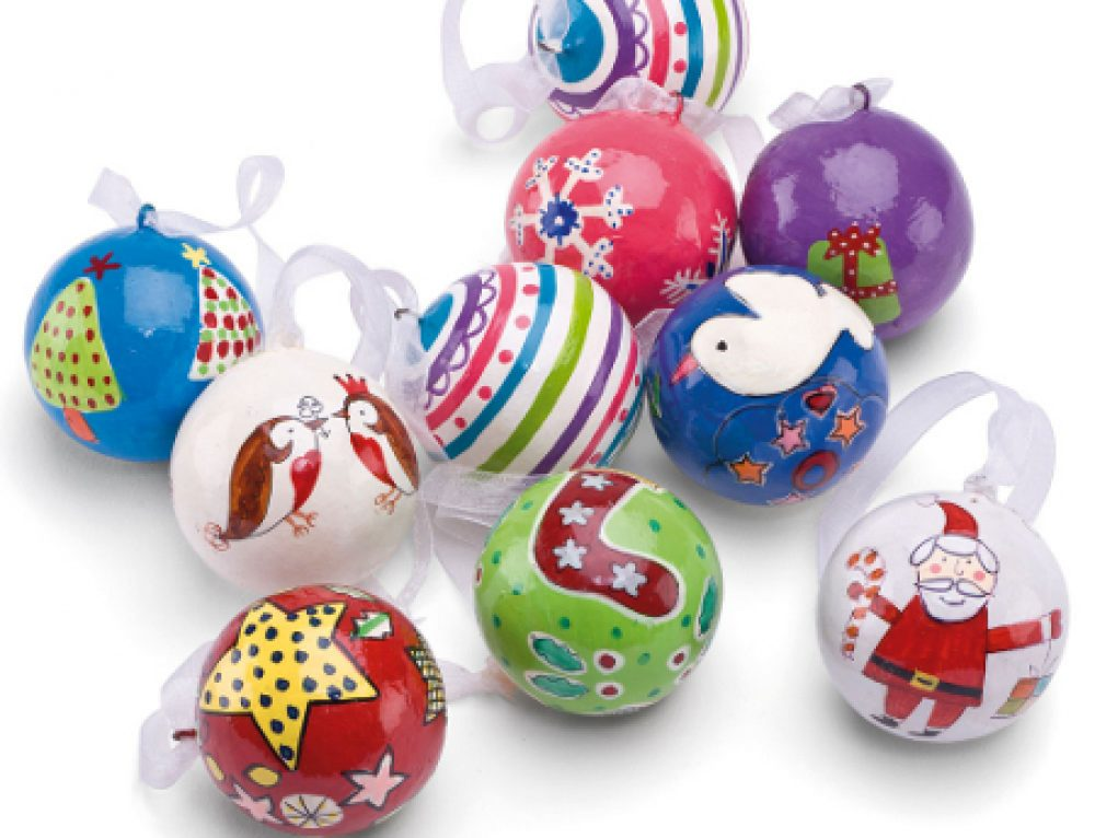 Fostering Solutions – Christmas Bauble Making