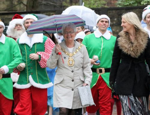 Magical Parade adds some Christmas Sparkle to Blackburn